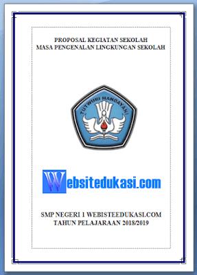 Contoh Proposal Kegiatan MPLS Tahun 2018