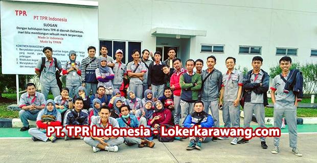 Lowongan Kerja PT. TPR Indonesia Kawasan GIIC Cikarang