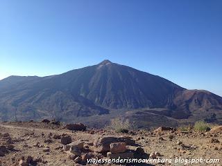 Teide desde la montaña de Guajara
