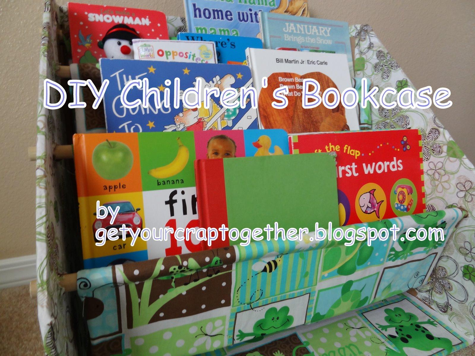 Diy Children S Bookcase By Gyct