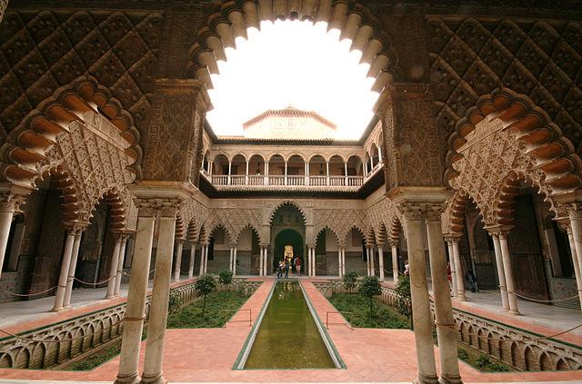 palatul alcazar sevilla