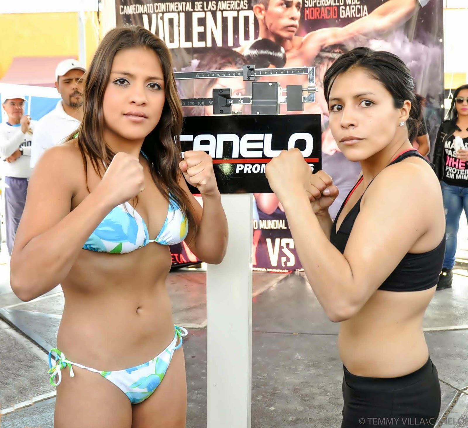 Gaby Potencia Nude boxeo hoy : box today: alondra garcia vs ivonne rosas - full