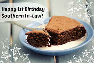Happy First Bloggiversary Southern In-Law! - Healthy Chocolate Cake