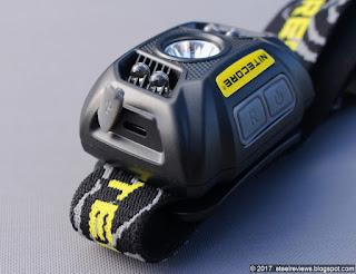 Nitecore NU30 headlamp USB charging