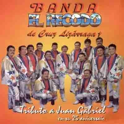Banda El Recodo Tributo a Juan Gabriel portada