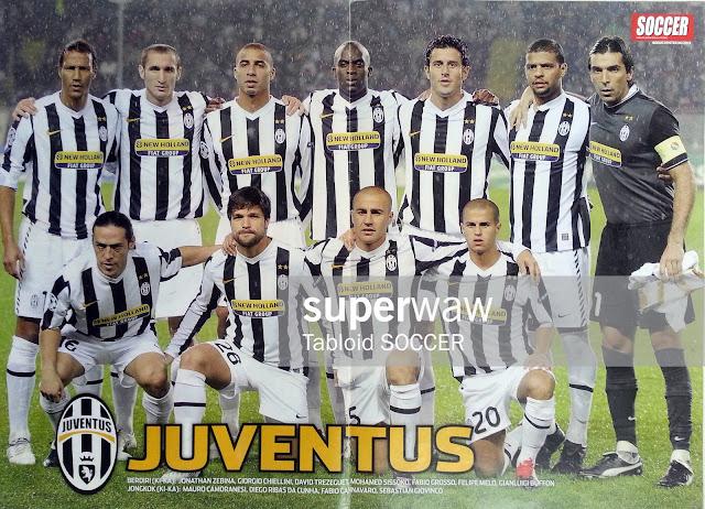 Poster Tim Juventus 2009
