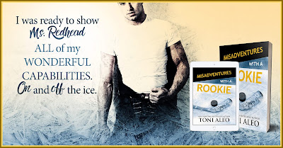 Rookie%2BTeaser%2BGraphic Misadventures with a Rookie by Toni Aleo: Blog Tour Review and Giveaway