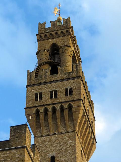 The Tower of Palazzo Vecchio (Old Palace), Piazza della Signoria, Florence