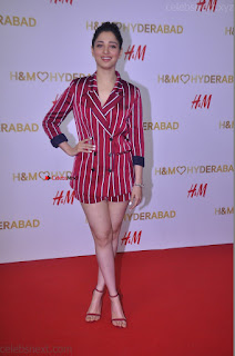 Tamannah Bhatia Exclusive in Red Blazer and Red Shorts Spicy Pics ~  Exclusive 063.JPG