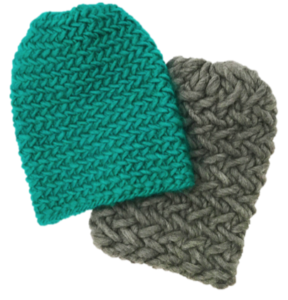 Herringbone Stitch Knit Hat Pattern : Herringbone Hat - Free Pattern - iKNITS