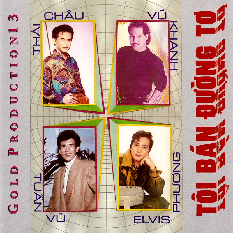 Gold CD013 - Tôi Bán Đường Tơ (NRG)