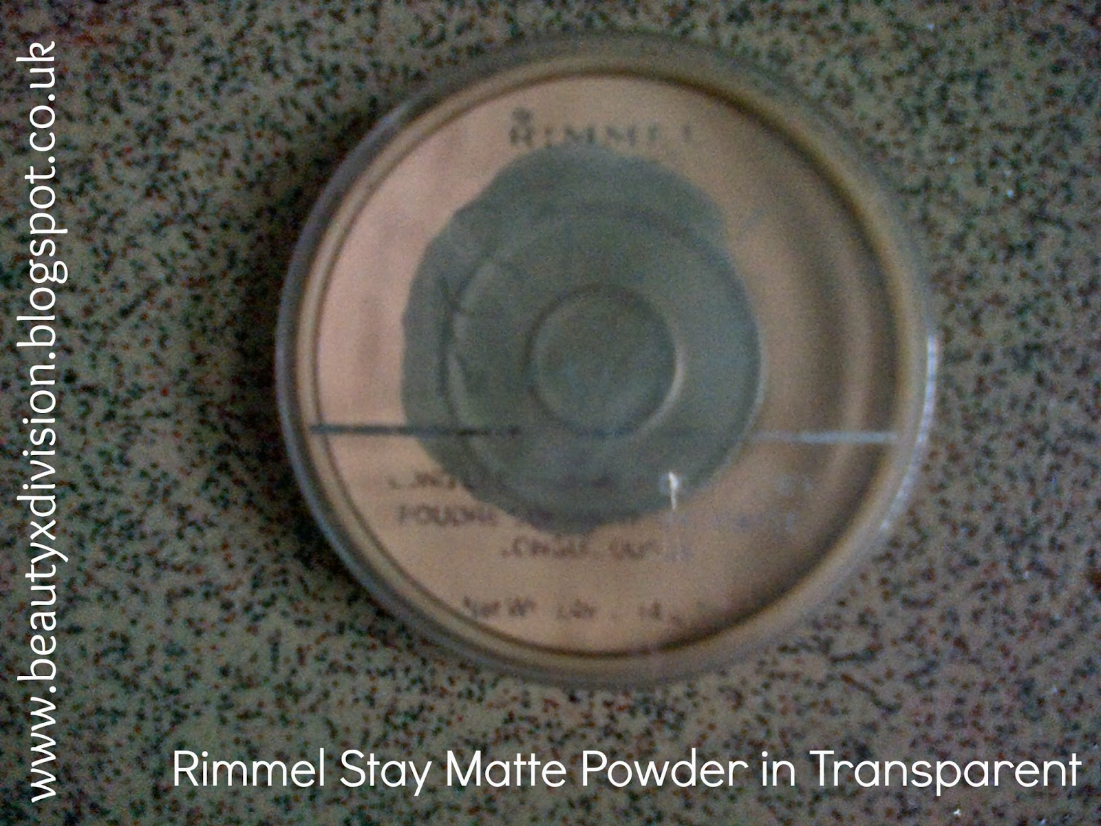 Rimmel Stay Matte Powder Transparent