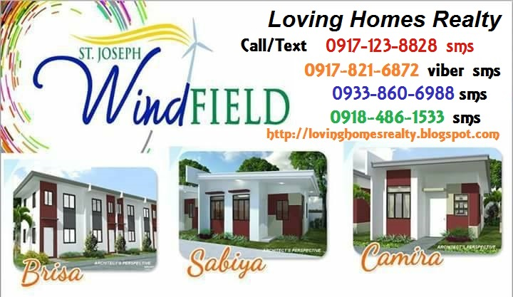 St Joseph Windfield Cabuyao Laguna Affordable House and Lot Package