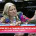 MAS QUE ELECTROFEST, ELECTROFISTING: A CARRIÓ LA CAGARON CON UN TV QUE COMPRÓ DURANTE UNA PROMO.