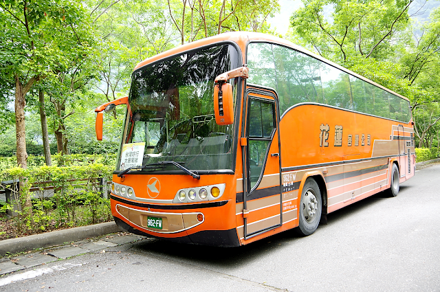shuttle bus taroko gorge taiwan