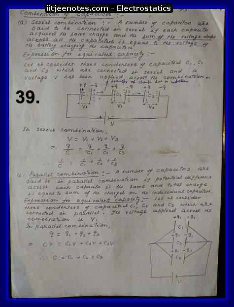 physics class 12 notes hand written notes