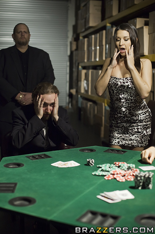 Wife Pays Poker Debt - Get My Popcorn Now-6571