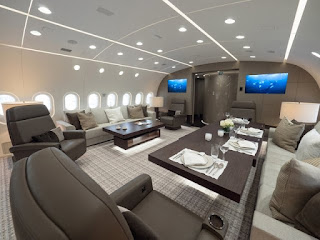 Inside the world's most luxurious private plane