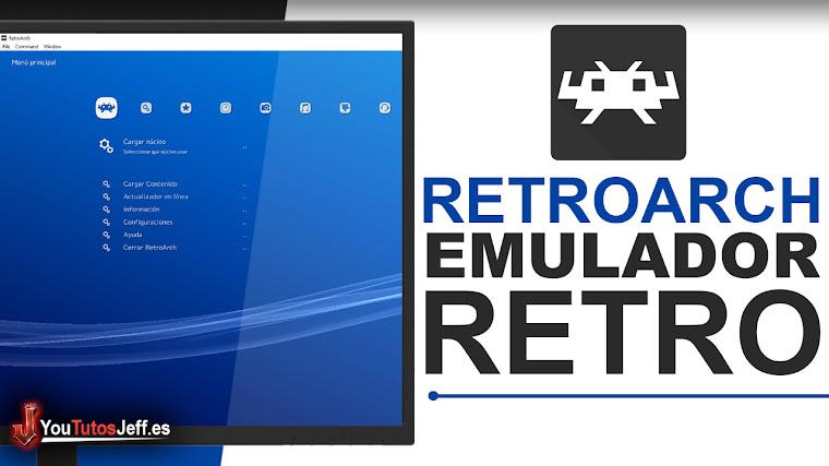 Como Descargar RetroArch Full Español Ultima Versión - Emulador de juegos Retro