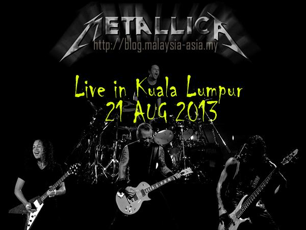 Metallica Live in KL Malaysia