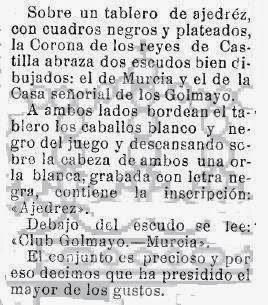 Sobre la insignia del Club golmayo, El Liberal, 6 de julio de 1928 (2)