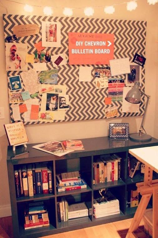 Tu organizas ideias para mural ou painel de fotos for Como fazer um mural de recados