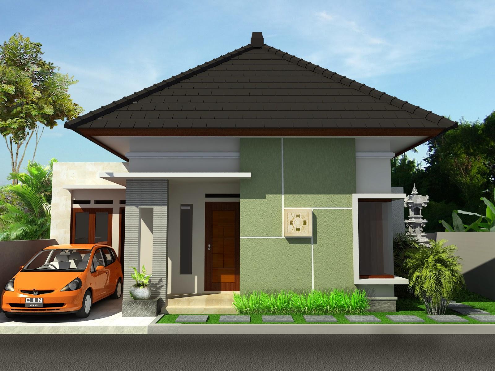 60 Desain Rumah Minimalis Modern 1 Lantai Type 45 Terbaru ...