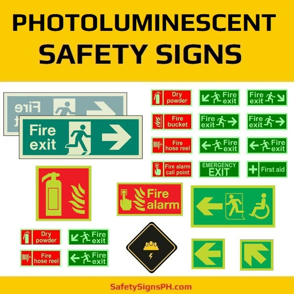 Photoluminescent Safety Signs Philippines
