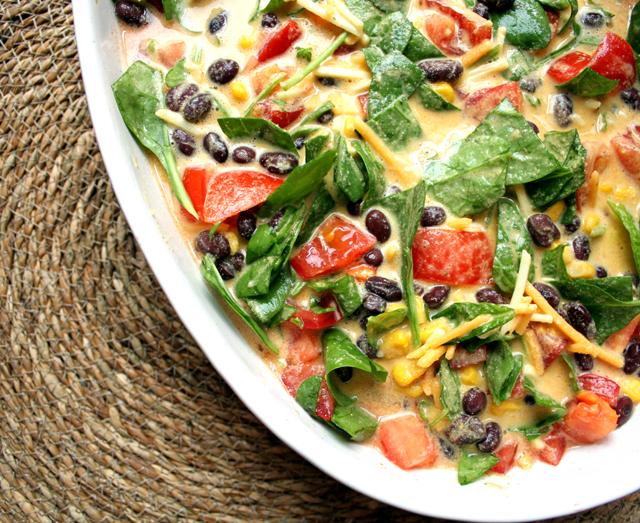 Oppskrift Tacograteng Tex-Mex Grateng Uten Egg Kikertmel Vegansk Middag Kjøttfri