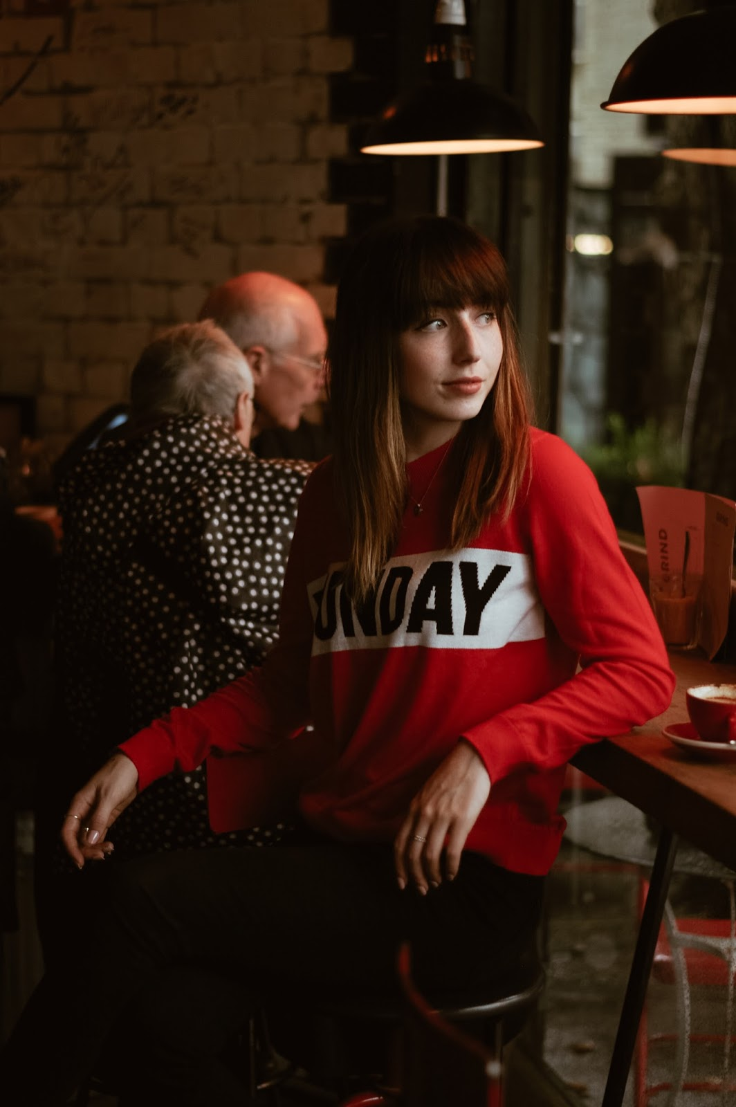 Hello Freckles Shoreditch Grind Funday Fashion Style Shoot London Coffee Shop