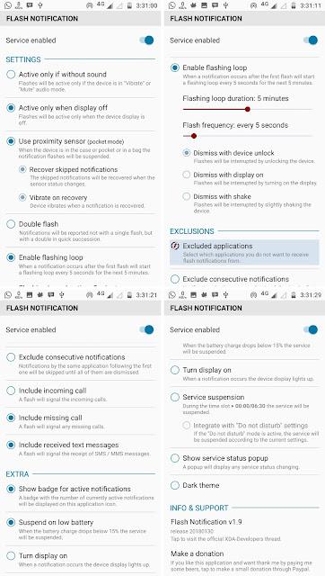 Cara Mengaktifkan LED Notifikasi Moto G5S Plus Tanpa ROOT Terbaru