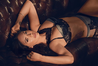 Megan Fox Hot Black Lingerie 4
