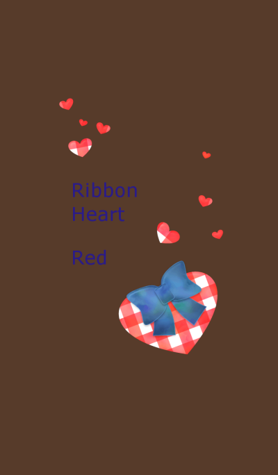 Ribbon Heart(Red)