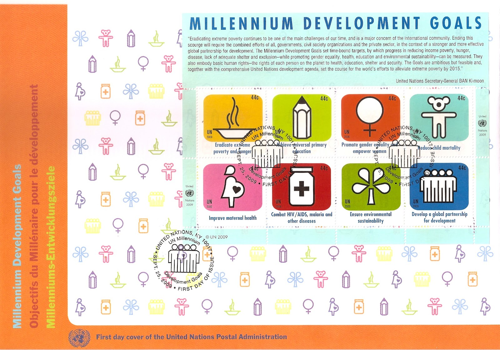 millennium goals The millennium declaration is a commitment signed by 189 world leaders in 2000 to work together to build a safer, more prosperous, and equitable world.