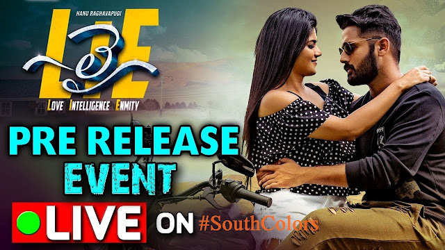 LIE Movie Pre-Release Event Live Streaming Online
