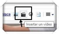 Botón Insertar un Vídeo