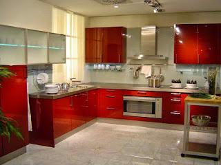 Koleksi Dapur Minimalis Wana Merah