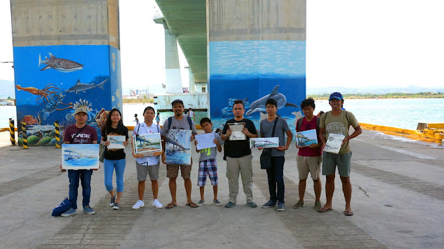 Sketchwalk at Marcelo Fernan Bridge with Urban Sketchers Cebu