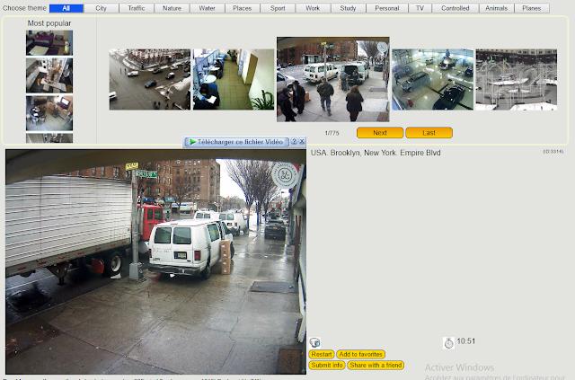 موقع لمشاهدة بث مباشر لكاميرات مراقبة مخترقة فى أى بلد تريده فى العالم  شوارع و اماكن مغلقة !