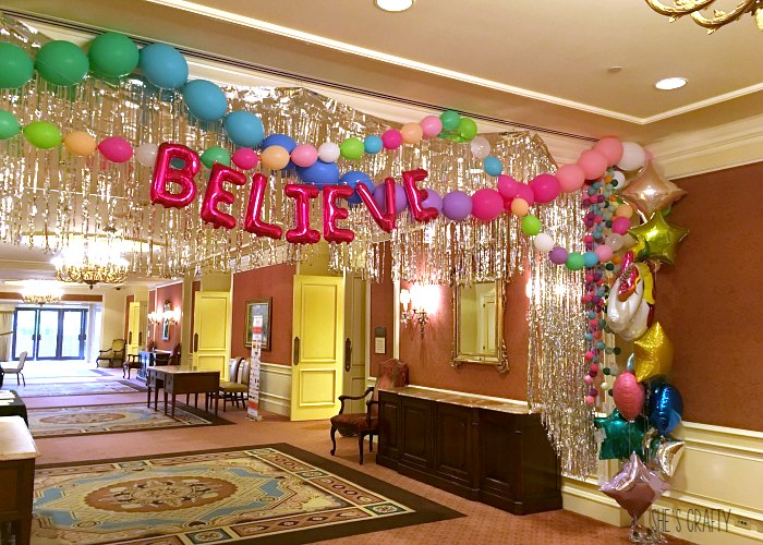 believe, unicorn decorations, blogger conference, influencer conference