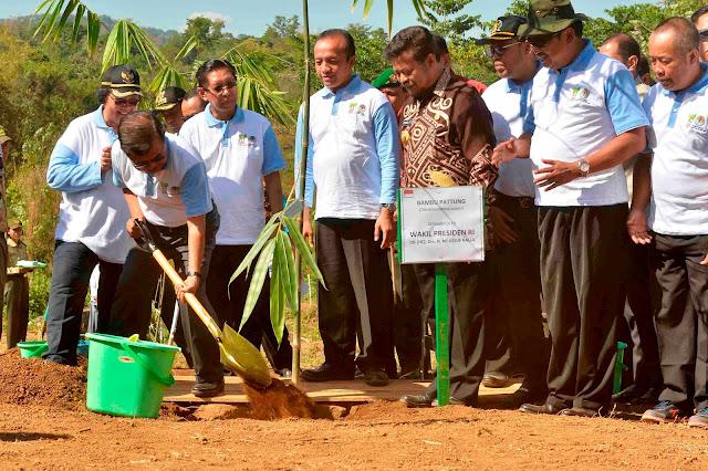 JK canangkan penaman bambu nasional di Gowa