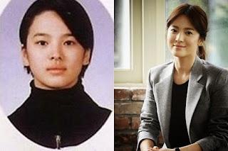 foto pre debut masa kecil song hye kyo