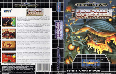 Empire of Steel - Megadrive cover - 1992