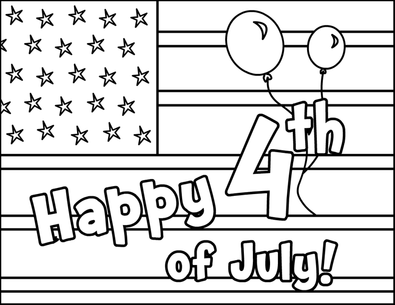 Happy 4th Of July Coloring Pages 2017 Happy Independence Day July 4th Coloring Pages