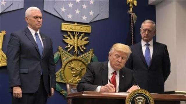 Indonesians denounce US President Donald Trump's travel ban