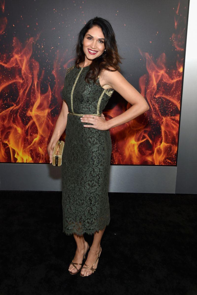 'Power' actress Full HQ Photos of Lela Loren At Starz Power Season 3 Premiere In New York