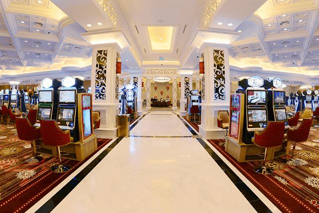 Khu vực Casino - The Grand Hồ Tràm Strip