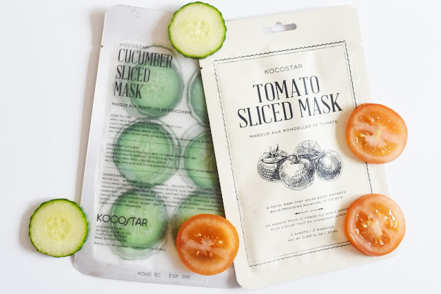 Kocostar Sliced Masks Cucumber and Tomato