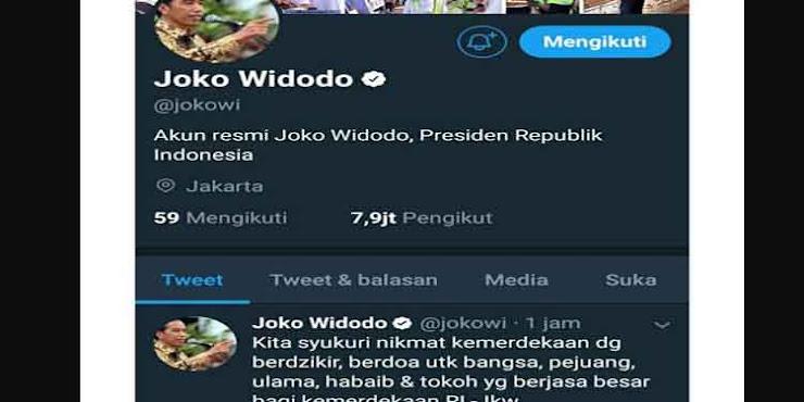 Jokowi : Ulama dan Habib Berjasa bagi Kemerdekaan NKRI