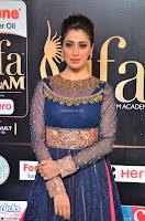 Raai Laxmi in Beautiful Backless Designer Anarkali Gown at IIFA Utsavam Awards 2017  Day 2  Exclusive 19.JPG